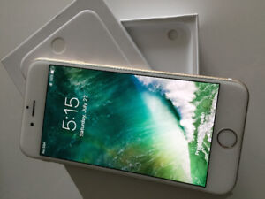 64GB iPhone 6, Gold, like new in the box