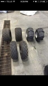 Stock tires and rims yfz450