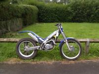 gas gas 250cc trials bike