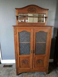 Belgian antique armoire
