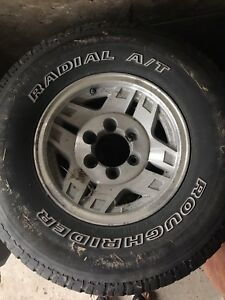 Tires and Rims Toyota