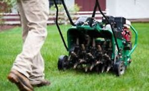 Professional Lawn Aeration Services