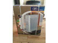 MP Essentials 1500W Oil Filled Radiator Heater