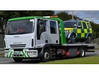 Tow truck car and van recovery service