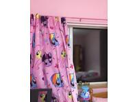 My little pony curtains and bedding