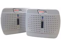 Streetwize Twin Pack Rechargeable Mini Dehumidifier For Car or Caravan - Used few times
