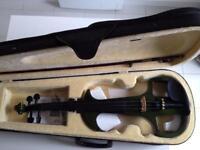 Left handed electric (silent) violin