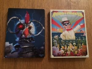 ROBOT CHICKEN - Season 1 & Season 3 on DVD (used)
