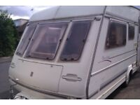 compass vantage 4 berth caravan clean dry tows very well ready to go