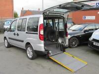 Fiat Doblo, wheelchair accessible, disabled access, WAV, mobility scooter car,