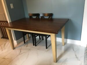 Rustic kitchen table from pier1