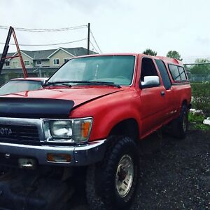 ISO: 1989 Toyota pickup 4wd parts truck