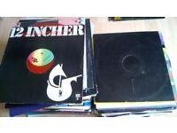 125 + Vinyl 12 inch singles 1970s - 1990s - lots of 1980s