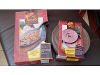 Fajita Sizzle Set and Tortilla Keeper - New