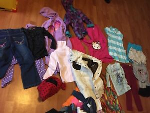 A tonne of cute very nice girls clothes  ages 4-7