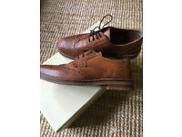 Men's size 7 wedding work casual brogues worn once