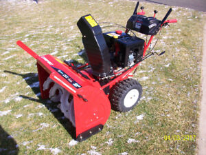 Newer Troy Built 33 inch SNOWBLOWER.....3 years old