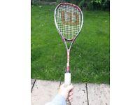 Wilson squash racket