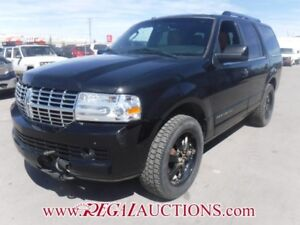 2012 LINCOLN NAVIGATOR LIMITED EDITION 4D UTILITY 4WD 5.4L LIMIT