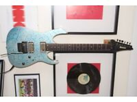 Ibanez RG2620 Prestige - BK Nailbombs & Blue LED's Modifications