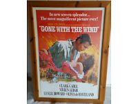Framed Movie Posters x 4 Perfect for lounge or bedroom