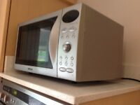 Samsung Microwave with integrated oven