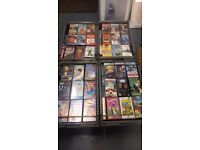 Job lot 700+ VHS videos to clear