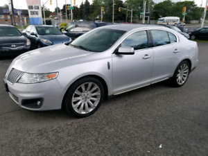 2010 LINCOLN MKS AWD LEATHER COOLED SEATS PADDLE SHIFT