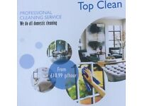 Professional Domestic & Commercial Cleaning Service - Top Clean in Manchester