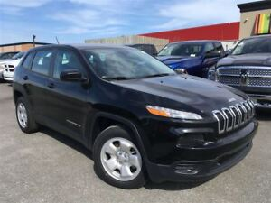 2017 Jeep Cherokee Sport + Hitch, Temps Froid+