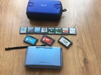 Nintendo ds and 11 games