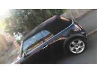 Mini Cooper convertible 1.6 in very good condition. 54/plate &a MOT TILL 26/5/18