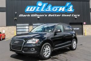 2014 Audi Q5 2.0L KOMFORT QUATTRO AWD!TURBO! LEATHER! $112/WK,