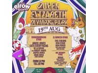 Elrow town- olympic park tickets SATURDAY 19th