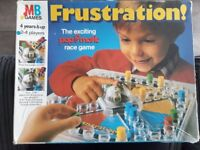 MB FRUSTRATION BOURD GAME OLD VERSION VERY RARE CANNOT BUY IN SHOPS NO MORE