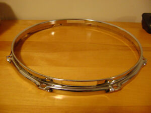 Snare side drum hoop