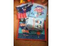 Next boys pirate bedroom bundle