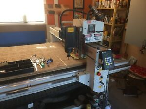 (Sold) AXYZ 4008 CNC Router Table