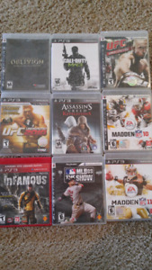 Ps3 games 5$ each