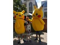 Pikatu fancy dress outfit
