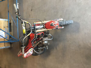 Honda xr50 with upgrades!!!!