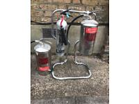Gas and water extinguisher