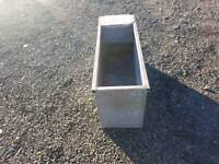 Galvanised water trough farm stables tractor