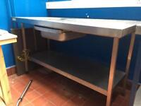 commercial catering work surface