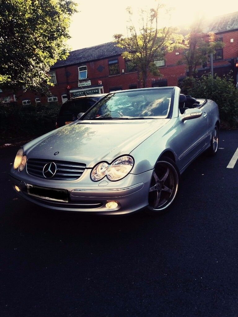 Mercedes CLK 240 - 2.6 V6 Auto Convertible 2004 £1399 or Swap L@@K