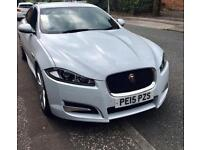 2015 Jaguar XF R Sport 2.2TD (200bhp) £4k extras + Jaguar fitted detachable tow bar
