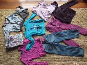 Lots de vêtements 5-6 ans MEXX fille