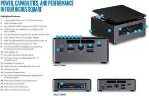 ★★★ Intel NUC i3 - 7th Gen. Complete With Ram + M2 SSD ★★★