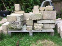 FREE Bradstone tooled used bricks