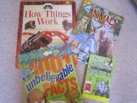 CHILDS SCIENCE BOOK BUNDLE and other educational books